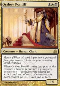 Magic: the Gathering - Orzhov Pontiff - Guildpact