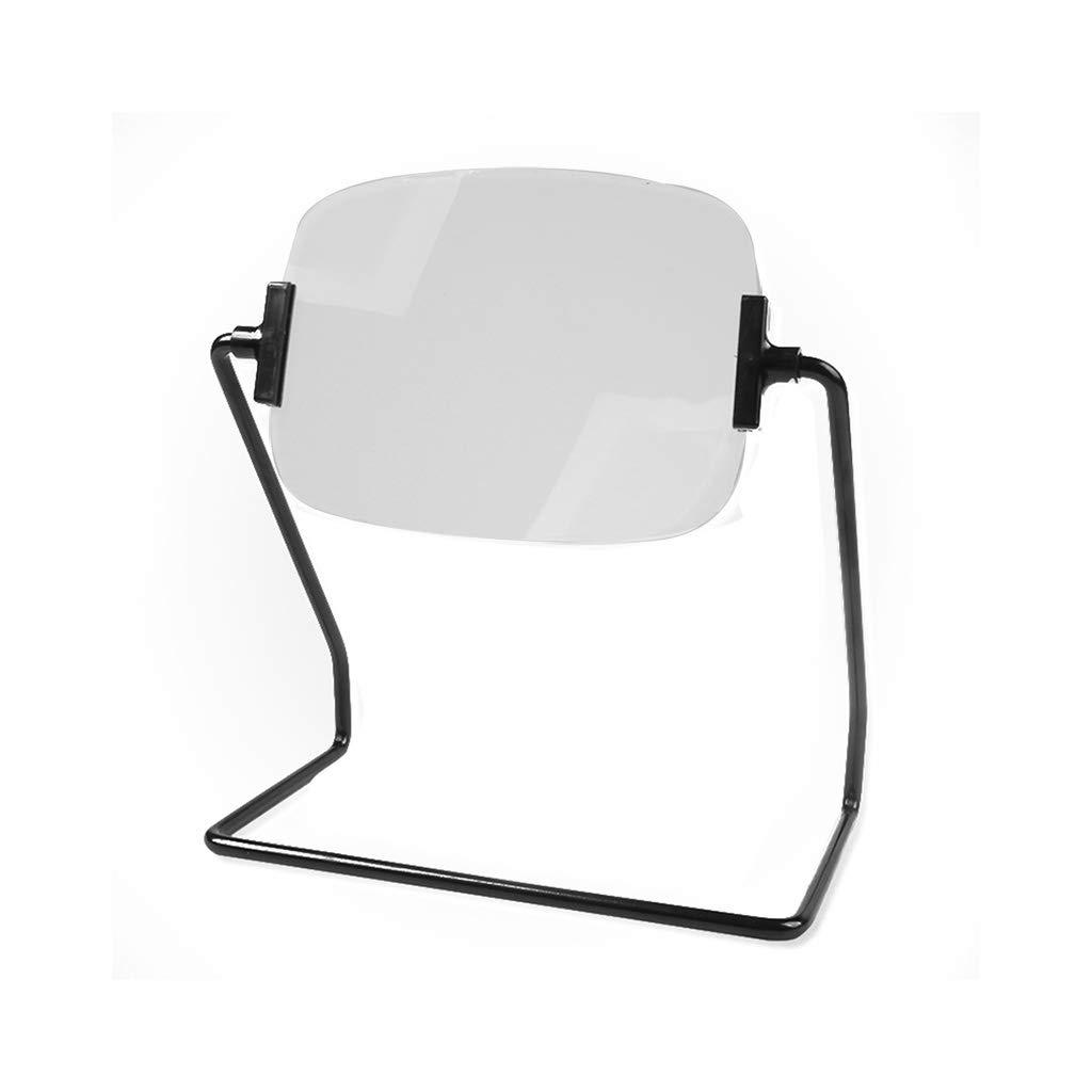 【激安大特価!】  虫眼鏡 B07QDC4JFS、2倍のデスクトップブラケット高齢者の読書虫眼鏡アクリル光学レンズメタルフレーム B07QDC4JFS, カネマル製麺:f90d21b1 --- agiven.com
