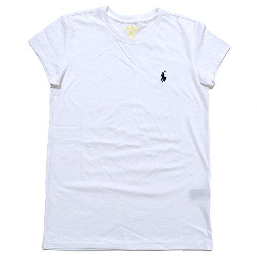 Ralph Lauren Sport Womens Crewneck T-shirt 2016 model (Large, White)