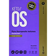 KETO//OS Chocolate Swirl CHARGED, BHB Salts Ketogenic Supplement - Beta Hydroxybutyrates Exogenous Ketones for Fat Loss, Workout Energy Boost and Weight Management through Fast Ketosis, 30 Sachets