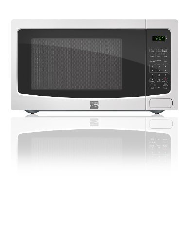 Kenmore White 1.1 cu. ft. Countertop Microwave 73114