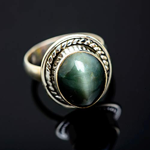 Ana Silver Co Cat's Eye Ring Size 7 (925 Sterling Silver) - Handmade Jewelry, Bohemian, Vintage RING951980