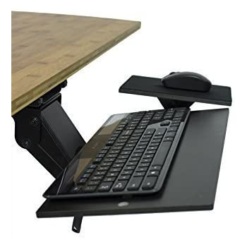 Amazon Com 3m Keyboard Tray With Sturdy Wood Platform