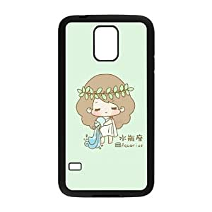 WINDFC 12 Constellation Phone Case For Samsung Galaxy S5 i9600 [Pattern-5]