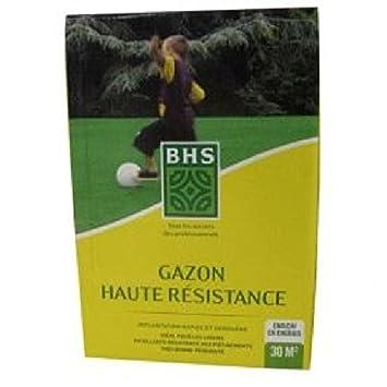 BHS Gazon - Usage intesif + engrais - Boîte de 1 kg: Amazon.es: Jardín