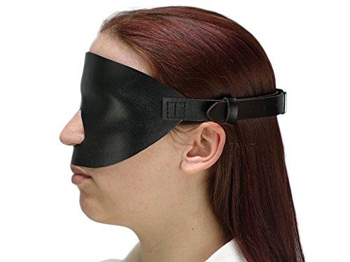 Extrem Gangbang Blindfold Augenbinde (Lederimitat)