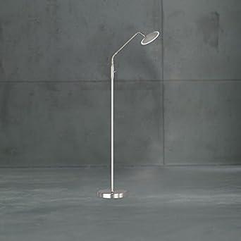 Ajustable y LED regulable Lámpara de pie con interruptor [12 ...
