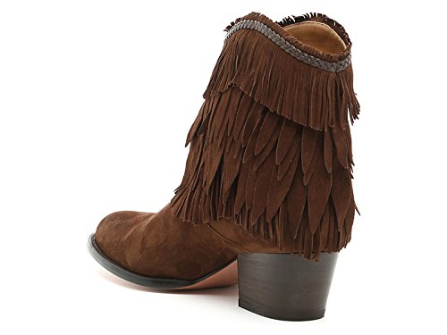 AQUAZZURA Women's POCMIDB0SUNCHO Brown Suede Ankle Boots clearance top quality from china free shipping buy cheap original big discount for sale free shipping under $60 kWw1bX