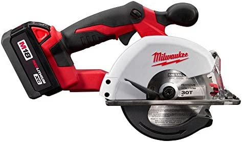 Milwaukee 2682-22 M18 5-3 8-Inch Metal Saw Kit, 2 Battery