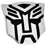 "5"" Autobot Transformers 3D Chrome Emblem (Not a Decal, High Quality Chrome Emblem)"