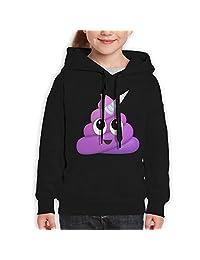 Unicorn Poop Kids' Hooded Youth Sweatshirt