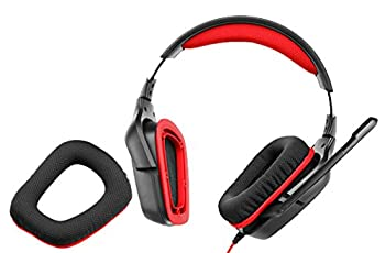 Logitech G230 Stereo Gaming Headset – On-cable Controls – Surround Sound Audio – Sports-performance Ear Pads – Rotating Ear Cups – Light Weight Design 5