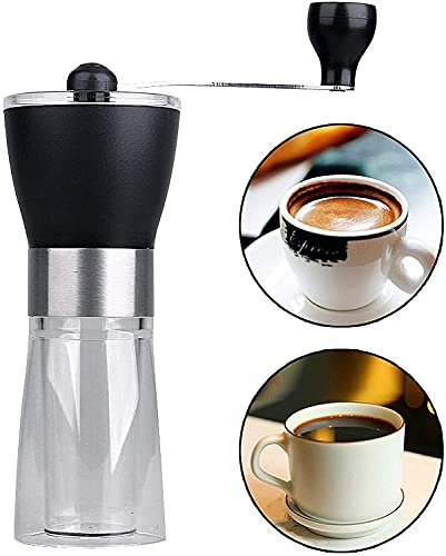 Coffee Grinder,Manual Coffee Grinder for Aeropress,Drip Coffee,Espresso,French Press,Hand Coffee Mill With Adjustable Setting