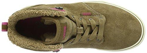 Vans Atwood Hi Mädchen Hohe Sneakers Braun ((MTE) tan/pink / DW4)