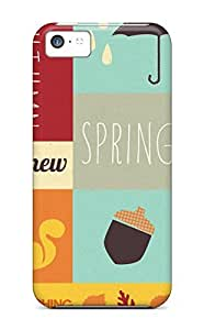 Hot Autumn The New Spring First Grade PC Phone Case For Iphone 5c Case Cover
