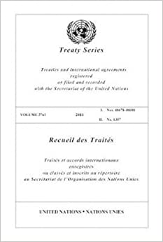 United Nations Treaty Series: 2011