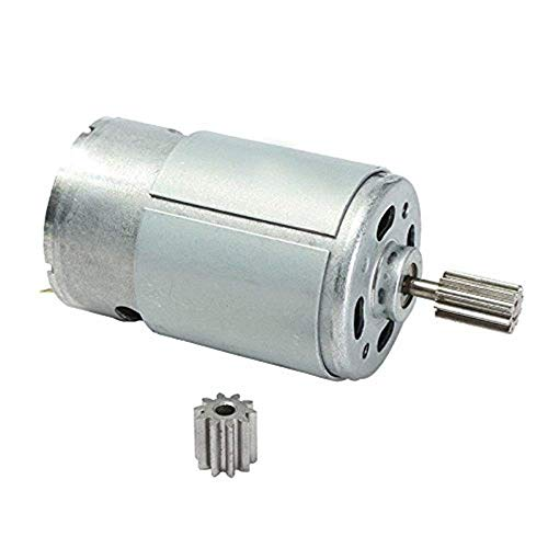 - weelye Universal 550 15000RPM Electric Motor RS550 12V Motor Drive Engine Accessory for RC Car Children Ride on Toys Replacement Parts