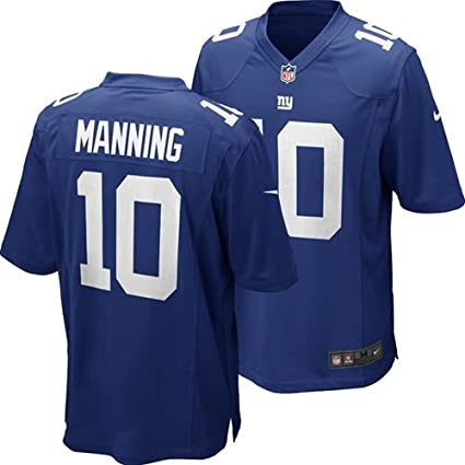 4954e79f5 Amazon.com   Nike New York Giants Eli Manning Jersey Youth (Size XL ...