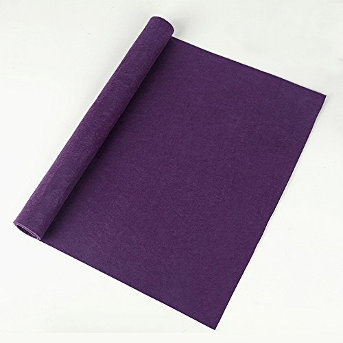 Corciosy Purple Thick Felt Mat for Sumi-e Painting & Ink Calligraphy 60 x 40cm (23.6 x 15.8 inch)-with a Free Gift Bags by Corciosy