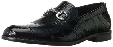 Stacy Adams Men's Servino Slip-On Loafer,Black,7.5 M US