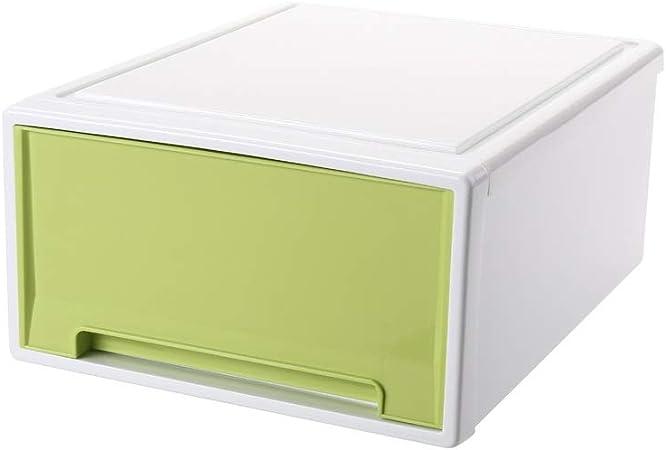 XF Casa Tipo de cajón Grande, Extra Grande Caja de almacenamiento Ropa Armario de almacenamiento Ropa interior Caja de almacenamiento de plástico para armarios, Blanco, Rosado, Verde, Azul Almacenamie: Amazon.es: Hogar