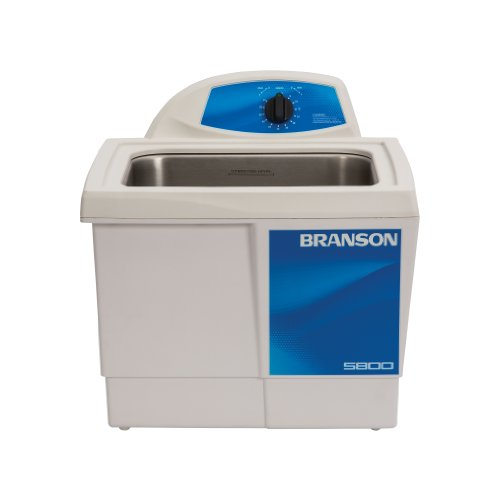 Branson CPX-952-516R Series M Mechanical Cleaning Bath with Mechanical Timer, 2.5 Gallons Capacity, 120V by Branson Ultrasonics
