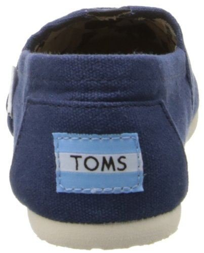 Toms Classic Navy Bianco Uomo Canvas Espadrillas Scarpe Slipons
