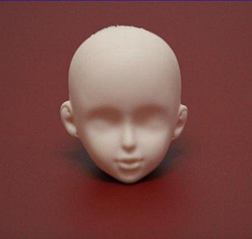 5PCS Mini Natural Skin OOAK 1/6 Scale Nude Doll Head Parts Repair Practice Makeup