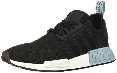 adidas Originals Women's NMD_R1 Running Shoe, Black/ash Grey, 7.5 M US