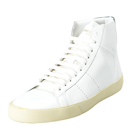 Women's Hi Leather Fashion White Top Laurent Shoes Sneakers White Saint 5RqZn