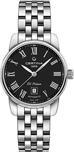 Certina DS Podium Automatic Black Dial Ladies Watch C001.007.11.053.00