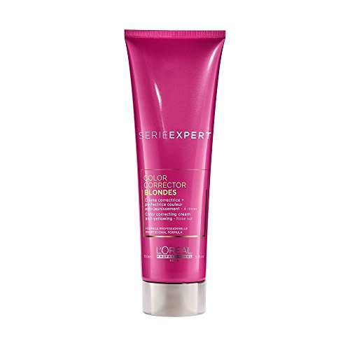 L'Oreal Professionnel Expert Serie - Color Corrector Blondes Color Correcting Cream Anti-Yellowing - Rinse Out (Blondes & Highlights) 150ml/5oz (For Corrector Color A)