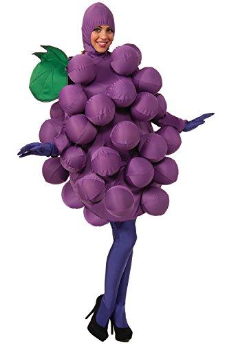 [Forum Novelties Purple Grapes Costume, Purple, Standard] (Forum Novelties Costume)