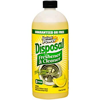 Instant Power 1501 Disposal and Drain Cleaner, Lemon Scent