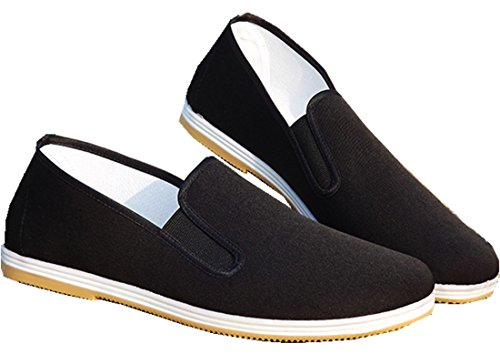 Shanghai Story Old Beijing Cloth Shoes Flat Comfortable Soft Shoes 41 Black