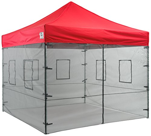 See larger image  sc 1 st  CraftySnax & Impact Canopies 10-Ft. Vendor Food Mesh Walls Sidewall Canopy Kit ...