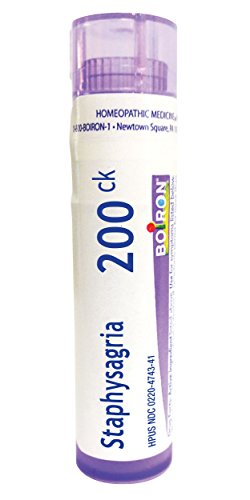 Boiron Staphysagria 200ck, Homeopathic Medicine for Surgi...