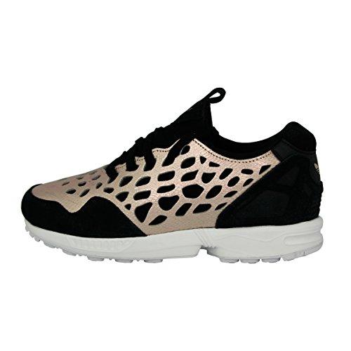 Adidas Originals ZX FLUX LACE W Scarpe Sneakers Rosa Nero per Donna
