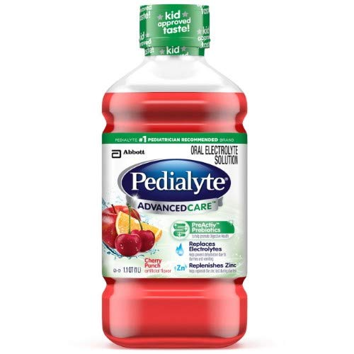 Pedialyte Advanced Care Oral Electrolyte Solution (Pack of 4)