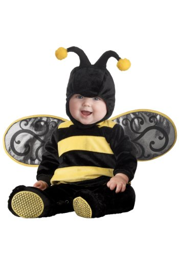 [InCharacter Costumes Baby's Lil' Stinger Bee Costume, Black/Yellow, Medium] (Bee Toddler Costumes)