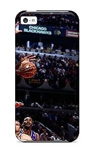 Cute Appearance Cover/tpu KQeqHsM886SYJRx Michael Jordan Chicago Bulls Nba Basketball Case For Iphone 5c
