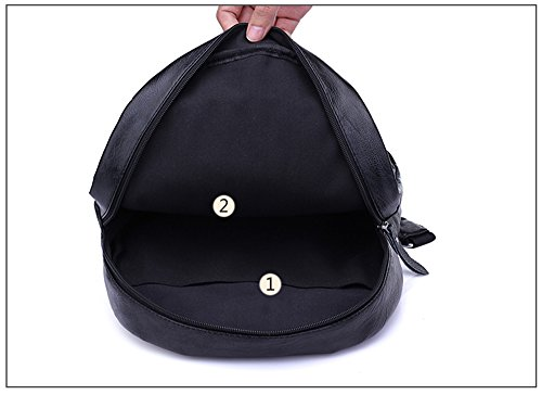 Sacchetto di spalla femminile del nuovo di personalità di tendenza del sacchetto / sacchetto di scuola coreano del college / grande sacchetto di mummia di capacità