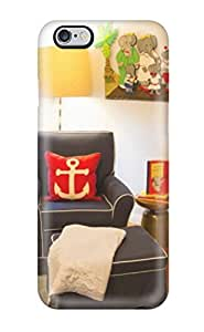 Awesome Design Nursery Chair In Nautical Theme With Anchor Pillow Hard Case Cover For Iphone 6 Plus by lolosakes