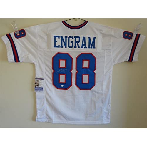 info for 8ecfc 008a5 EVAN ENGRAM SIGNED AUTO NEW YORK GIANTS WHITE COLOR RUSH ...