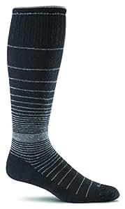 Sockwell Women's Revolution Socks, Black, Small/Medium