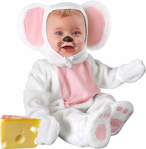 [Infant Baby White Mouse Halloween Costume (18-24 Months)] (6 Character Halloween Costumes)