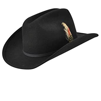 6eeb4b53d6ec Eddy Bros. Kids Bronco Jr. Hat Black 1Sfm at Amazon Men's Clothing store: Cowboy  Hats