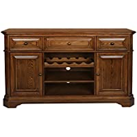 New Classic Oakridge Entertainment Console, Tawny