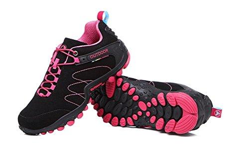 Immer schöne Frauen / Männer Walking Trail Schuhe Casual Laufschuhe Turnschuhe Schwarz