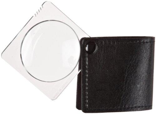 Donegan V906 Pocket Magnifier with Glass Lens, 3.25X Magnification, 45mm Lens Diameter